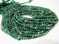 Very Good Quality Natural Green Coated Labradorite Beads