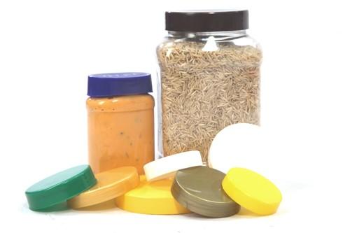 Pet Jar Plain  Caps