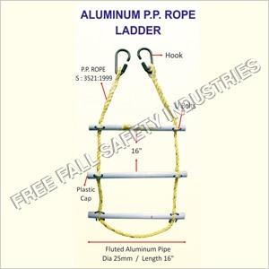 Aluminum P P Rope Ladder