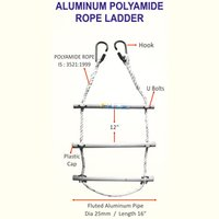 Industrial Aluminum Polyamide Rope Ladder