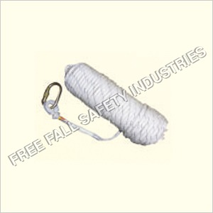 Kernmantal rope anchorage line