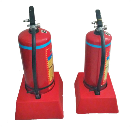 Portable Fire Extinguisher Stand