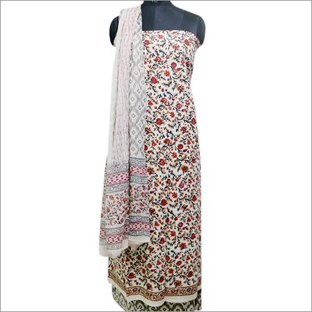 Print Dress Material