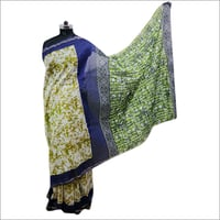 Ladies Batik Printed Saree & Traditional Saree