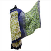 Ladies Batik Printed Saree & Traditional Saree