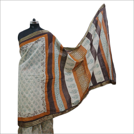 Ladies Sanganeri Printed Saree