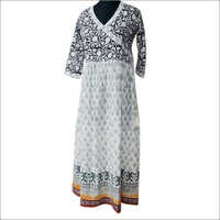 Ladies Hand Block Printed Kurti