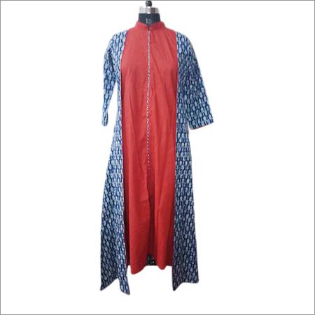 Ladies Jaipuri Printed Kurti
