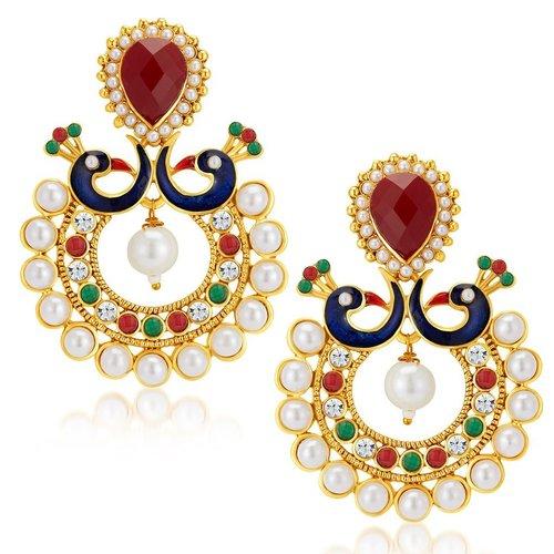 Gold Plated Australian Diamond Earrings
