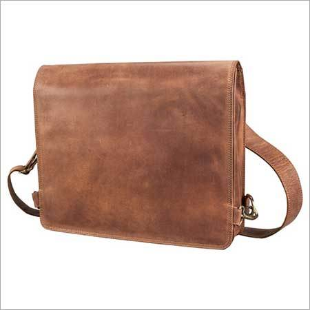 Leather Laptop Shoulder Bag