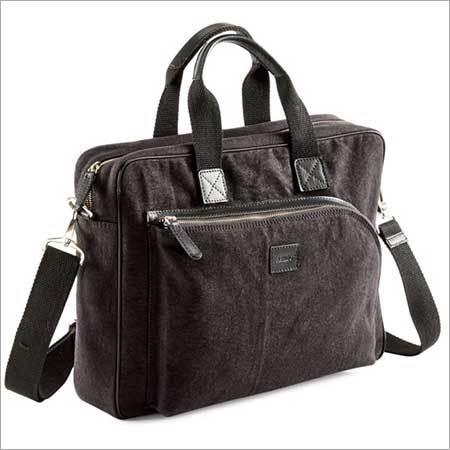 Black Color Trendy Executive Bag
