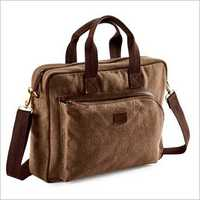 Brown Color Trendy Executive Bag