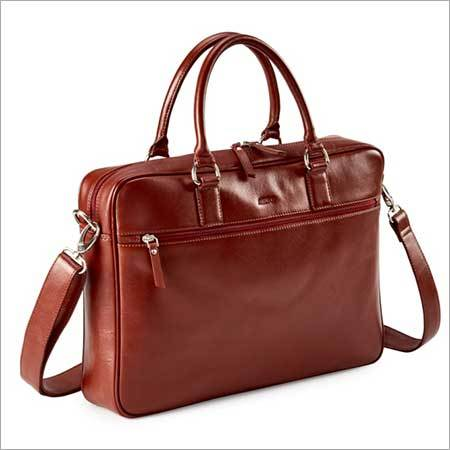 LEATHER  EXECUTIVE  BAG