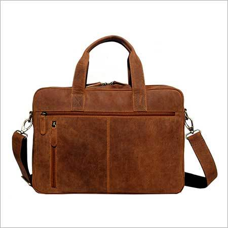 Leather Laptop Portfolio Bag