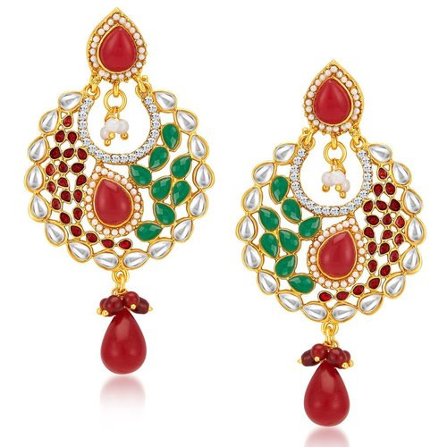 Royal Gold Plated Earrings Exporter Manufacturer Supplier from