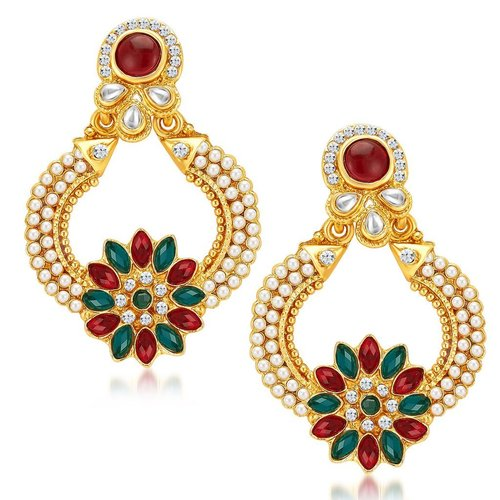 Ritzy Gold Plated Earrings