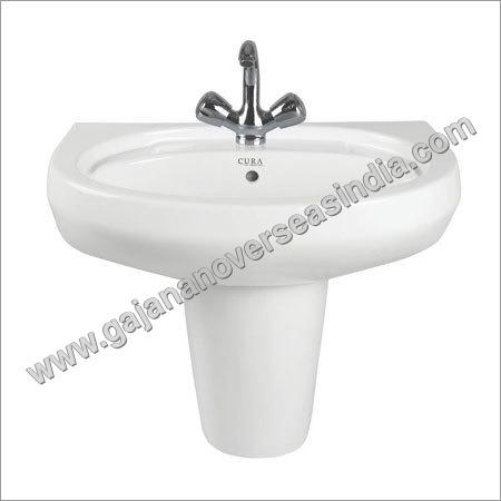 Small Pedestal Wash Basin