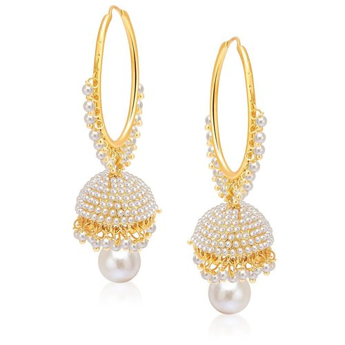 Gold Plated Pearl Jhumki