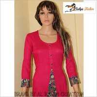 Cotton and Rayon Kurti