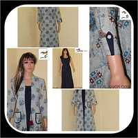 Cotton kurti with pocket