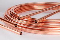 Copper Plain Tubes