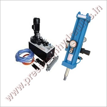 Hydraulic Pneumatic Power Pack & Cylinder