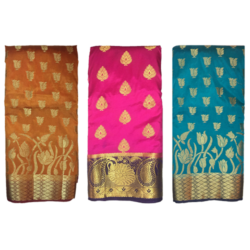 Silk Designer Golden Work Saree