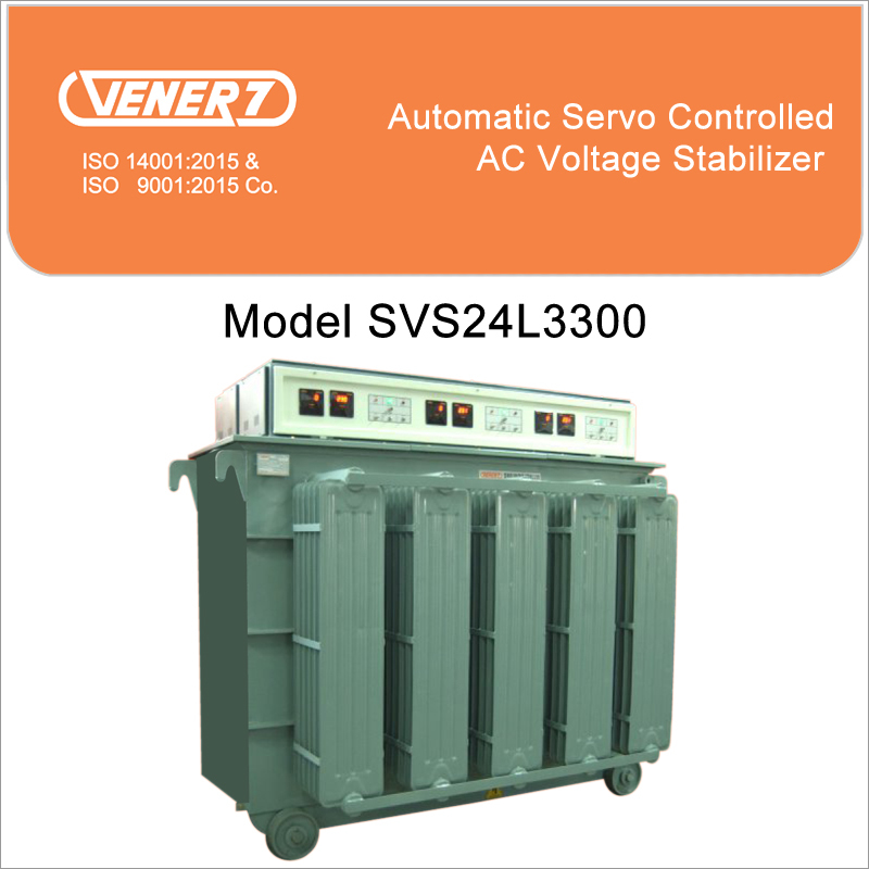300kVA Automatic Servo Controlled Oil Cooled Voltage Stabilizer