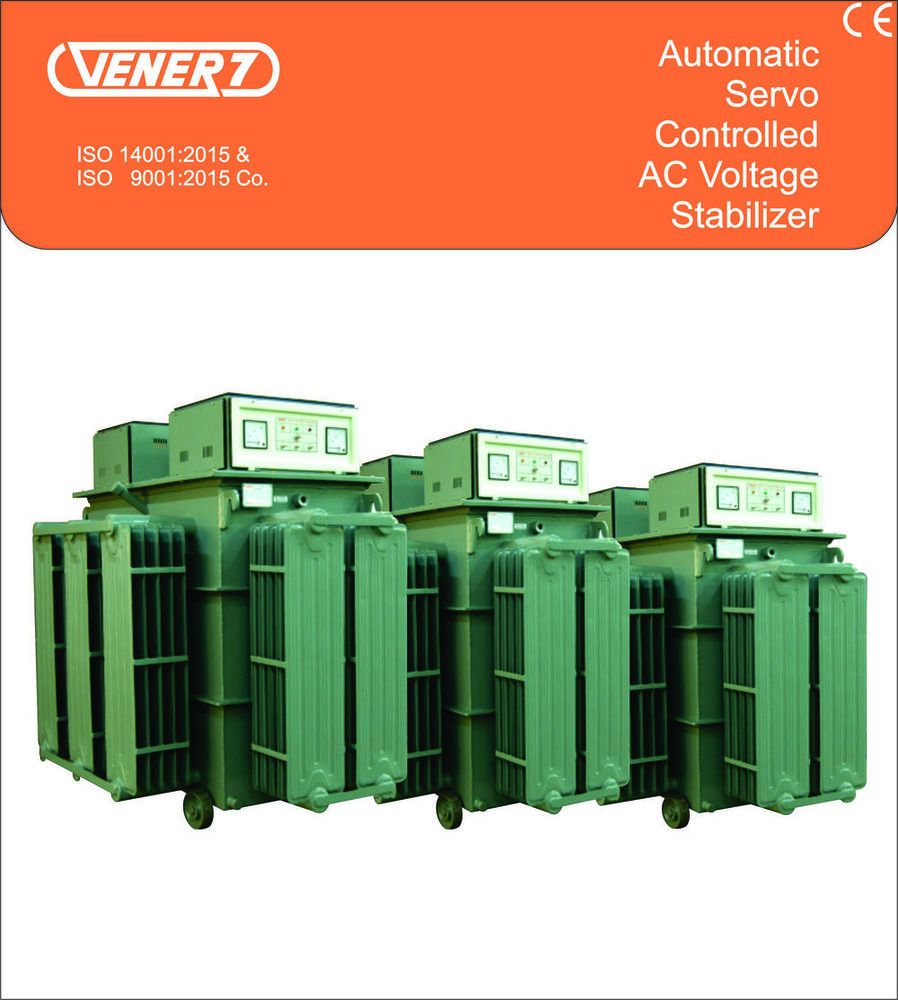 500kVA Automatic Servo Controlled Oil Cooled Voltage Stabilizer