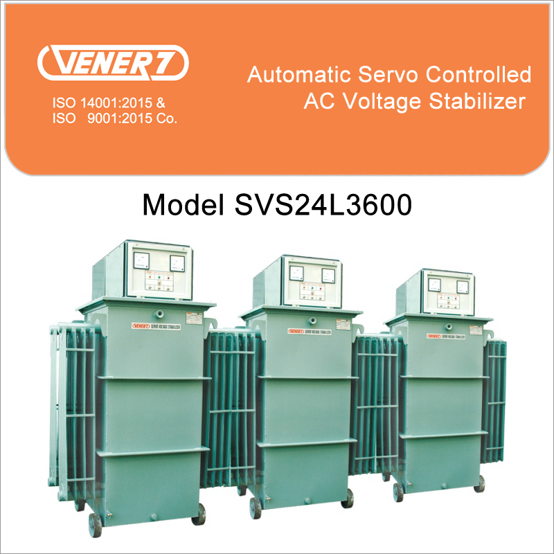 600kVA Automatic Servo Controlled Oil Cooled Voltage Stabilizer