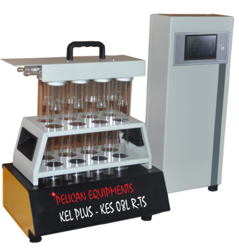 Eight Place Fully Automatic Touch Screen Digestion System