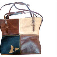 Ladies Soft Leather Hand Bag