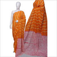 Bagru Print Cotton Sarees
