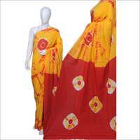 Cotton Block Print Sarees