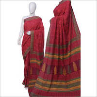 Fancy Printed Cotton Sarees