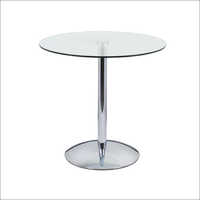 Glass Top Cafeteria Table