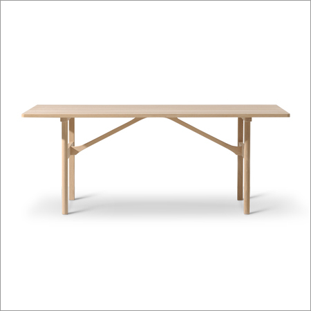 Soaped Oak Cafeteria Table