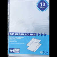 PP Clear Folder