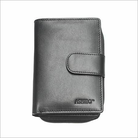 Ladies Black Color Clutch Wallet
