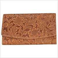 LADIES Genuine vintage leather Clutch