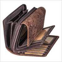 LADIES vintage Genuine leather wallet