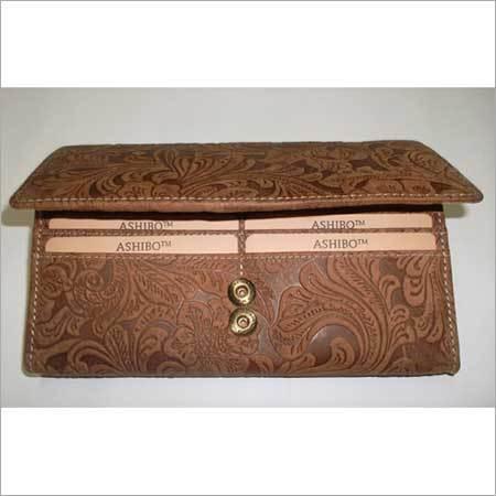 LADIES vintage Genuine leather Clutch wallet