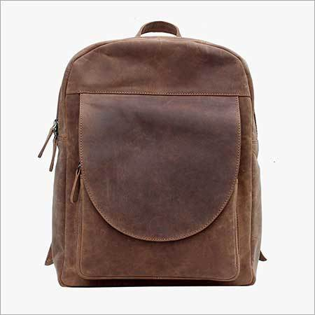 Leather Back Pack Bags