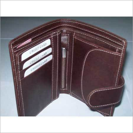 Man's Brown Leather Wallet