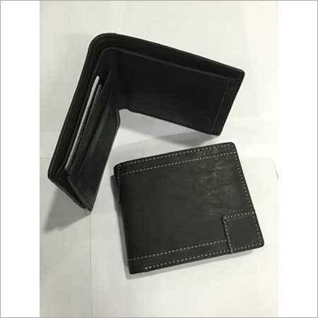 Classic Black Color Men's Wallet
