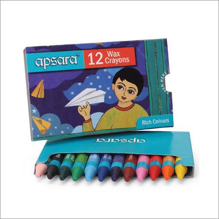 Apsara Wax Crayons Color 12