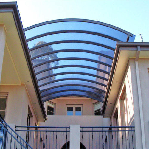 Polycarbonate Entrance Structure