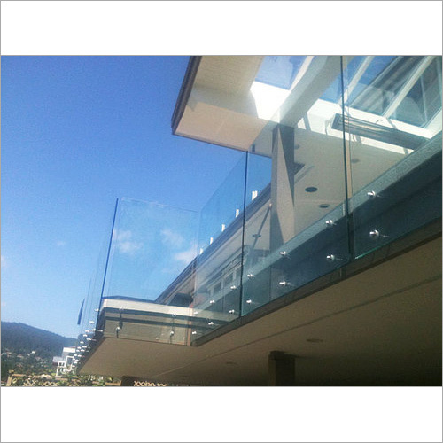 Bolted Glass Railing Service