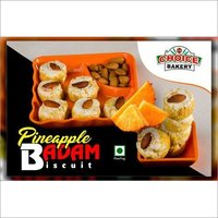 Pineapple Badam Biscuit