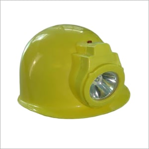 Safety Helmet With Rechargeable Led Head Lamp